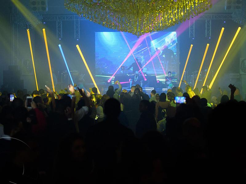 Music Festival LED Wall & Lights